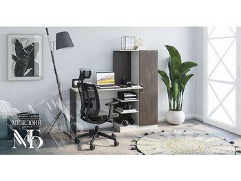 Компьютерный стол Бейсик венге-лоредо