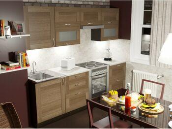 Гарнитур кухонный Кира Базис 2400