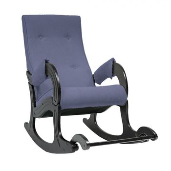 Кресло-качалка модель 707 Verona Denim blue венге