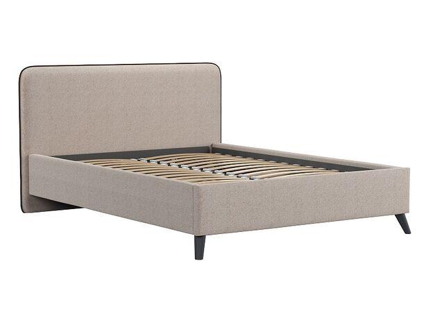 Кровать двуспальная Миа бежевый
