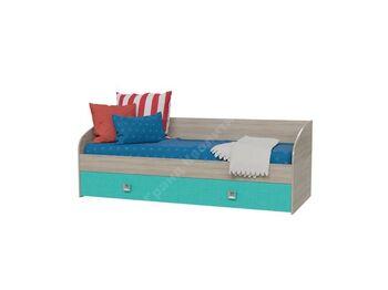 Кровать односпальная с ящиками Сити-Аква 4-2001 ШхВхГ 2045х735х850 мм
