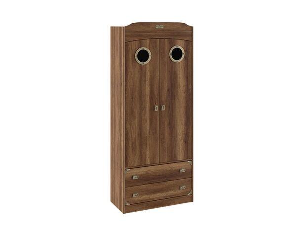 Шкаф комбинированный для одежды с иллюминатором Навигатор СМ-250.07.22 ШхВхГ 902х2161х434 мм