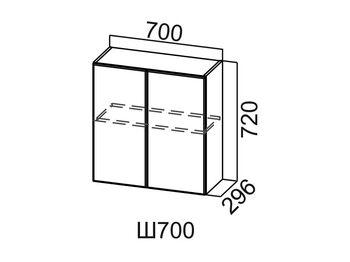 Шкаф навесной Ш700 Модус СВ 700х720х296