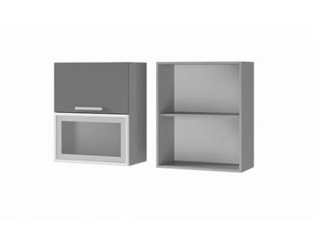 Шкаф с дверями горизонтальными 6В3 МДФ ШхВхГ 600х720х310 мм