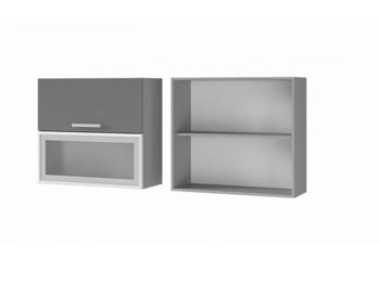 Шкаф с дверями горизонтальными 8В3 МДФ ШхВхГ 800х720х310 мм