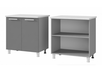 Шкаф-стол 2-дверный 8Р1 МДФ ШхВхГ 800х820х600 мм