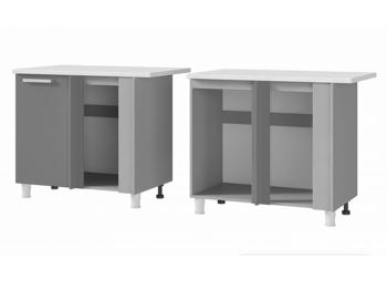 Шкаф-стол угловой 10УР2 МДФ ШхВхГ 1000х820х600 мм