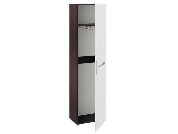 Шкаф для одежды Фьюжн Венге Линум-Белый глянец