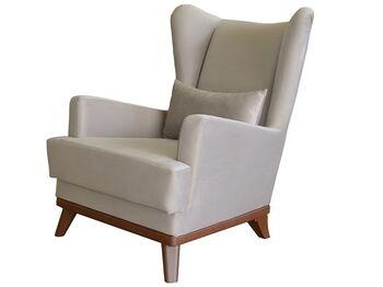Кресло для отдыха Оскар арт. ТК-313 светлый кварцевый серый