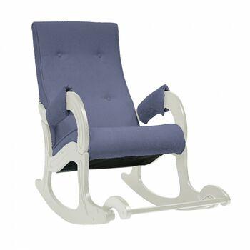 Кресло-качалка модель 707 Verona Denim blue дуб шампань