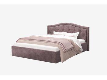 Кровать с подъемным механизмом Стелла Rock 12 серо-фиолетовый